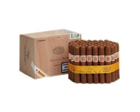 Hoyo De Monterrey Coronas Box Of 50 Cigar Cerutu sautter of mount hoyo de monterrey epicure no 2 slb box of 50