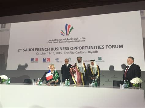 Lettre De Mission Visa Arabie Saoudite le second forum d affaires franco saoudien a r 233 uni plus de