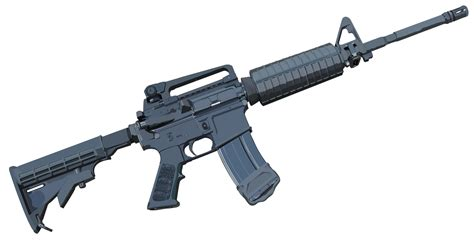 M4 Cabine by M4 Carbine Vectored By Manicwolf On Deviantart