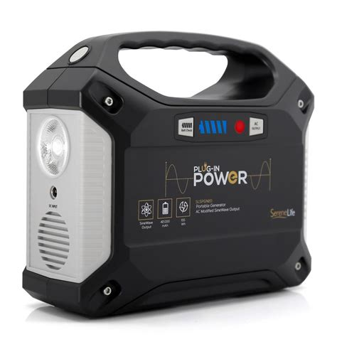 Power Monoblock Mobil serenelife slspgn20 home and office power banks