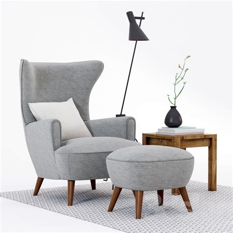 High Back Armchair Design Ideas 3d Models Arm Chair Scandinavian Designs High Back Chair