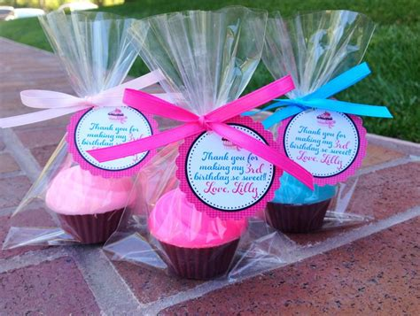 Bday Giveaways - 25 cupcake soaps favors birthday party favor by favorsbyangelique