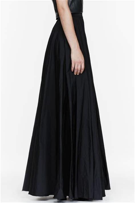 Black Floor Length Skirt by Yang Li Black Floor Length Circle Skirt In Black Lyst