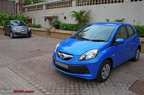 honda brio colours honda brio test drive review team bhp