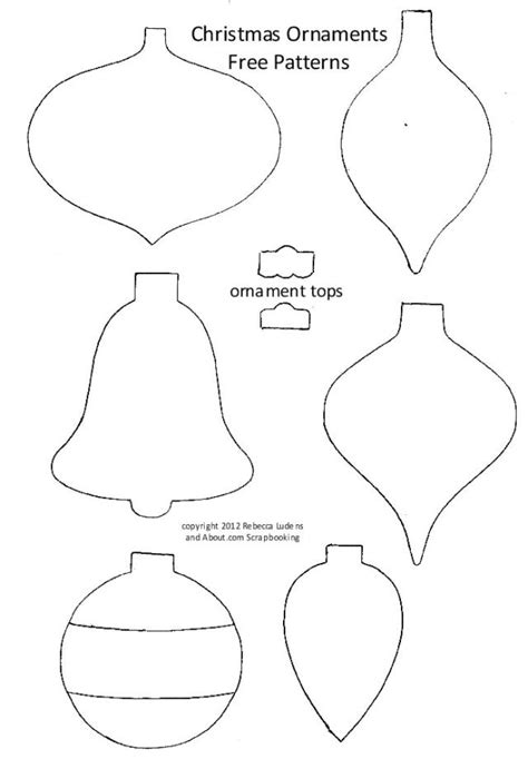 tree ornament templates tree ornaments for and template search