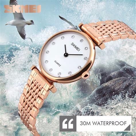 Skmei Jam Tangan Analog Wanita Gold 1262 skmei jam tangan analog wanita 1223c gold jakartanotebook
