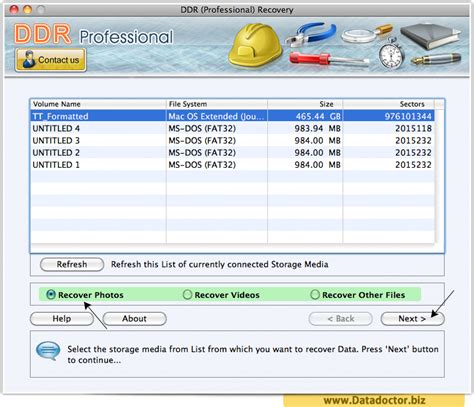 ddr professional data recovery software full version get ddr professional recovery 4 0 1 6 app for mac os x