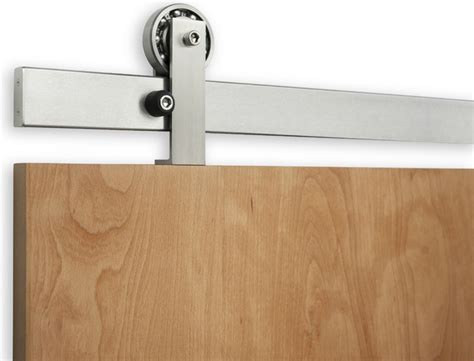 Modern Barn Door Hardware Rob Roy Sliding Door Hardware Modern Barn Door Hardware Other Metro By Krownlab