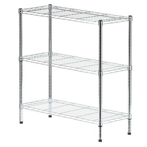 stainless steel wall shelving unit stainless steel shelving unit d wire unit in the home