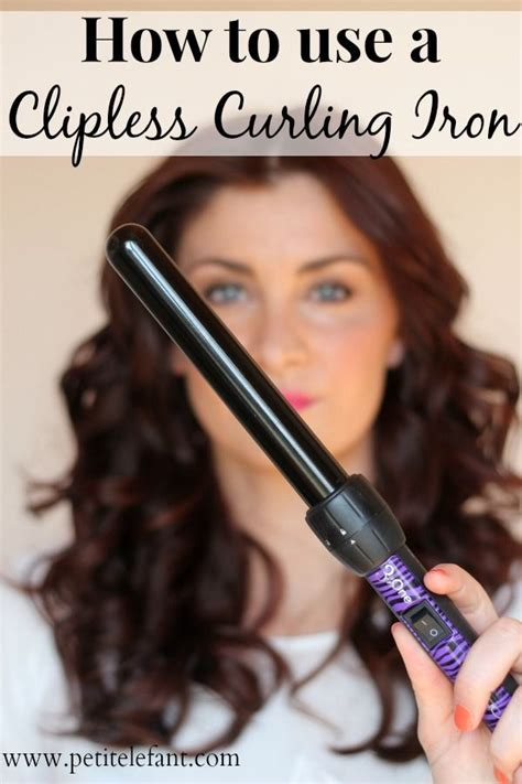 how to choose a best curling iron wand step by step guide how to use a curling wand or clipless curling iron