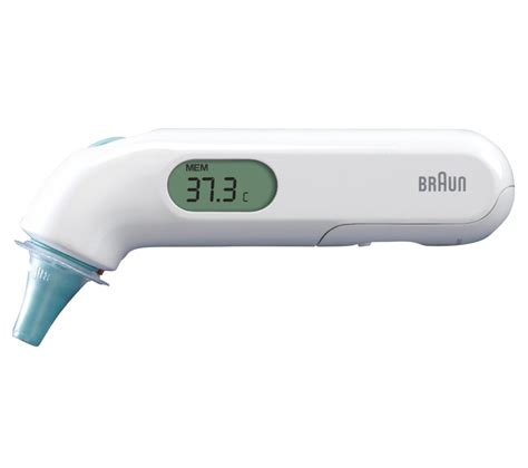 Braun Ear Thermometer buy braun thermoscan 3 ear thermometer free delivery currys