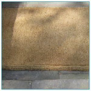 coir doormat made to measure