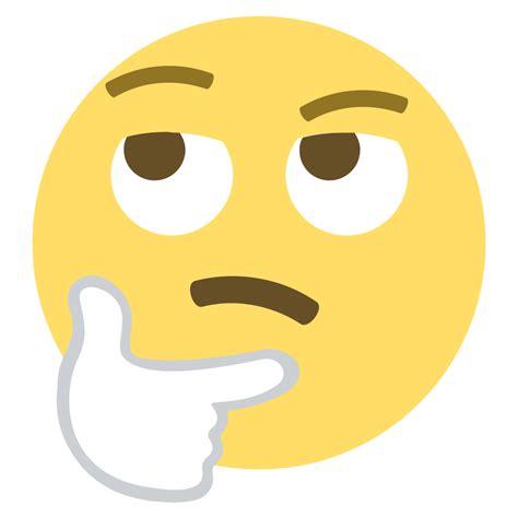 emoji question face file emojione 1f914 svg wikimedia commons