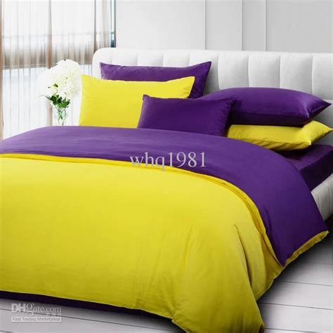 yellow and purple bedroom yellow bed sets the interior decorating rooms