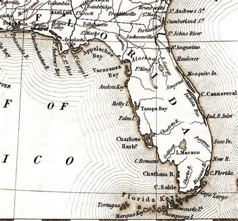 map of florida 1835