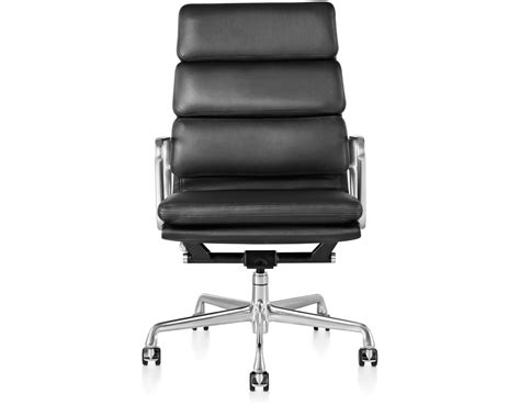 Chair Designer Charles by Eames 174 Soft Pad Executive Chair Hivemodern