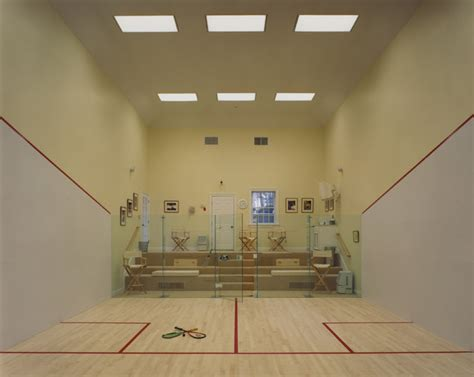 Squash Court on Private Estate Bedford, NY Contemporary Home Gym New York by Beckwith