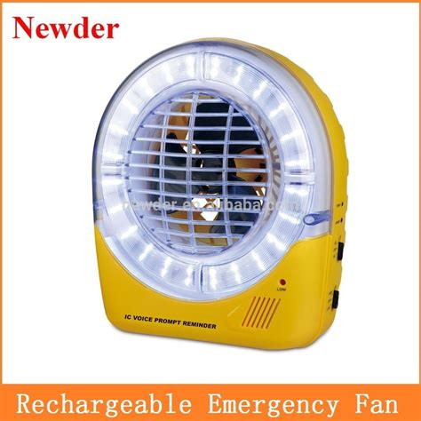 rechargeable battery powered fan 5 quot rechargeable battery operated emergency fan ac dc table