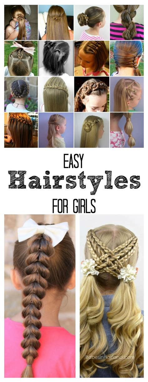 Cool Hairstyles For School Easy by Easy Hairstyles For The Idea Room