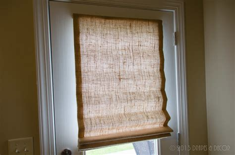burlap window blinds burlap shades exterior door alpharetta ga
