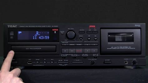 cd to cassette teac ad rw900 cd recorder cd recording from cassette usb