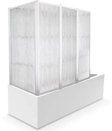parete vasca cristallo parete vasca cristallo 4 mm 68 130x140h aura box doccia
