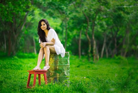 White Home Office by Anchor Actress Anasuya Bharadwaj Latest White Frock Dress