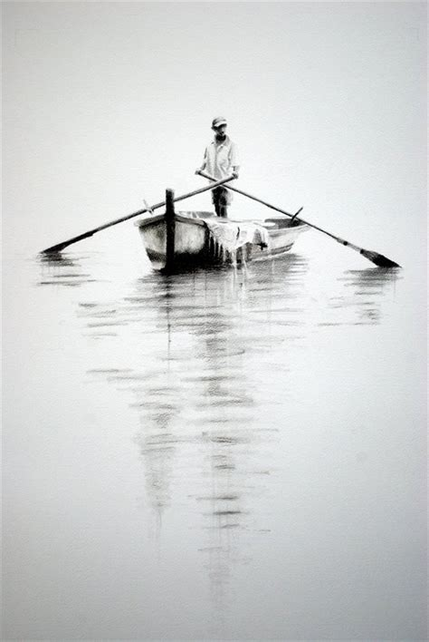 boat charcoal drawing easy charcoal drawings google search draw pinterest
