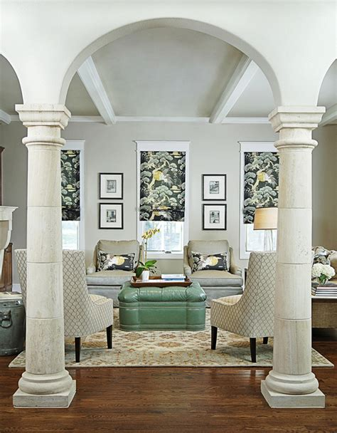 living room columns creative ways on how to add columns to your home