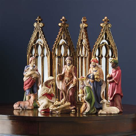 nativity set 9 piece gump s