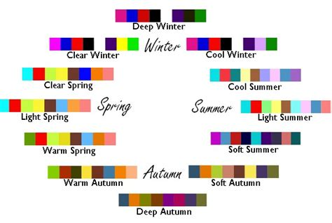 colors summer winter fall decoration news