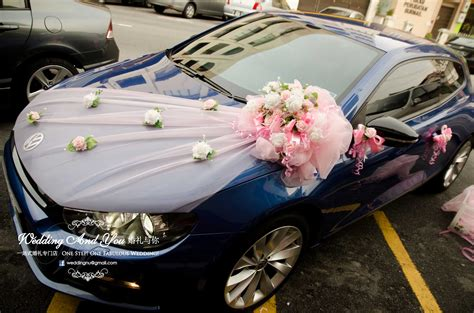 Decorate Wedding Car With Pink Flowers car decoration for wedding in some ways resolve40