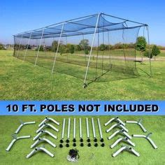 door in all cage nets baseball batting cage net netting