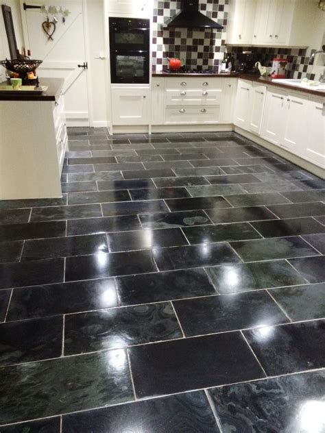 Slate Kitchen Floors Problems by Sealing Tiles Cleaning And Polishing Tips For