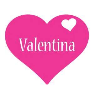 valentina logo name logo generator i love love heart