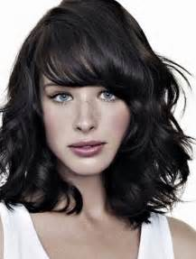 shoulder length layered curly haircuts with front and back pictures top 10 layered hairstyles for shoulder length hair front