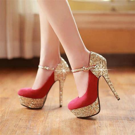 fashion shoes high heels 2015 nightclub high heel shoes sparkling stiletto