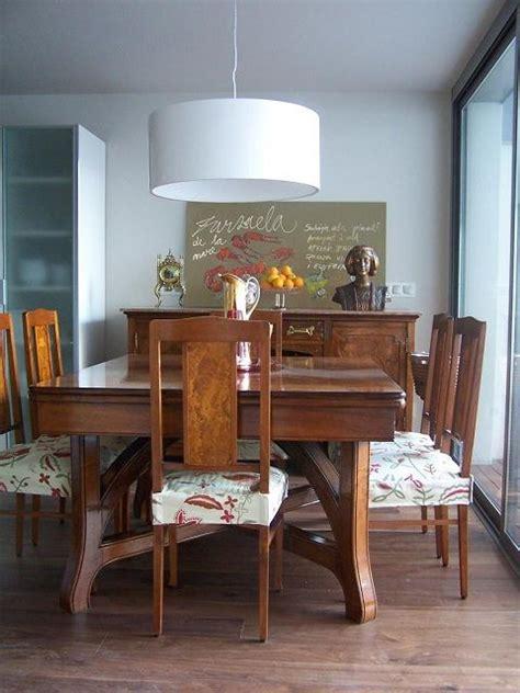 como decorar un comedor antiguo un comedor antiguo integrado en una cocina moderna