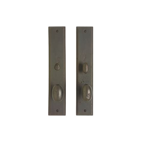 Rectangular Privacy Set 2 1 2 Quot X 13 Quot Privacy Mortise Interior Door Hardware Sets