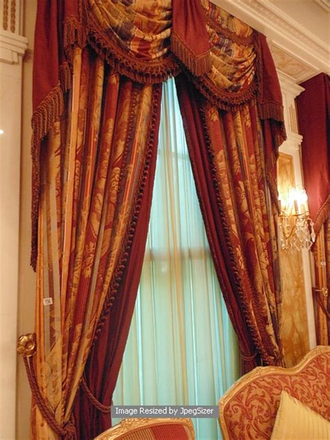 gold and burgundy curtains a pair of gold and burgundy curtains supplied by jacquard