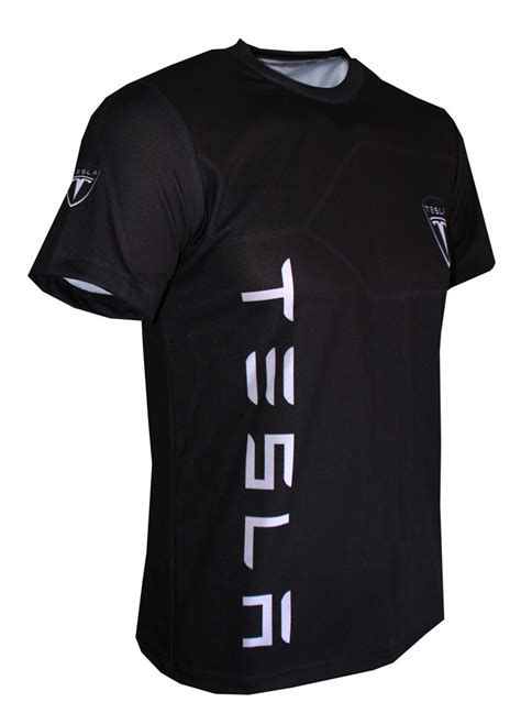 Tesla Tshirt Tesla T Shirt With Logo And All Printed Picture T