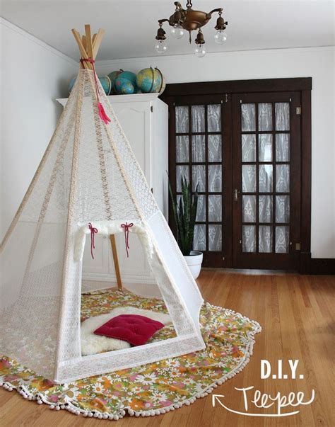 Bathroom Ideas Budget make your own play teepee a beautiful mess
