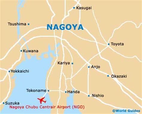 nagoya airport map