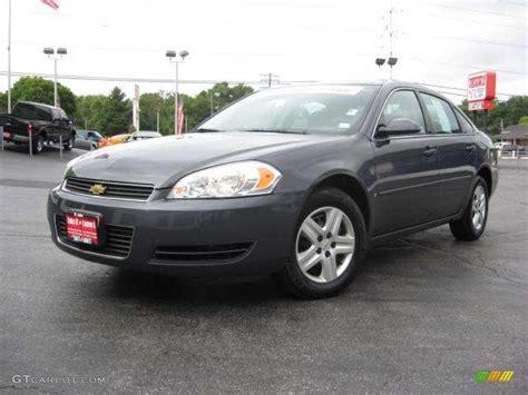 Slate Ls by 2008 Slate Metallic Chevrolet Impala Ls 17267676