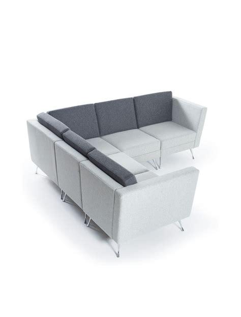 dams lyric modular reception corner sofa set lyrset 121