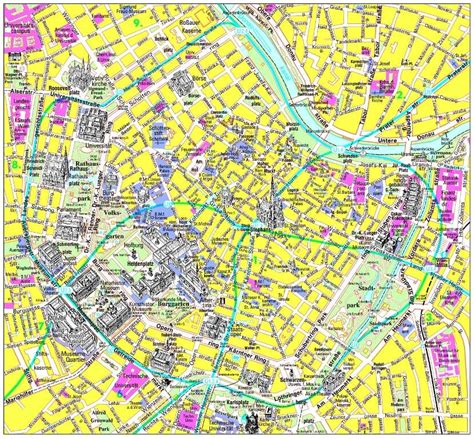 printable map vienna large vienna maps for free download and print high