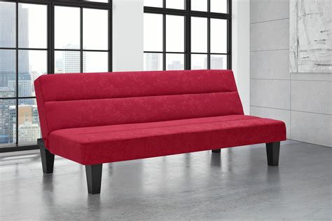 dhp kebo futon dhp furniture kebo futon red