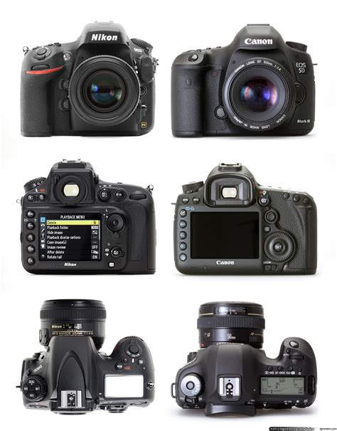 format video canon 5d mark iii nikon d800 review digital photography review