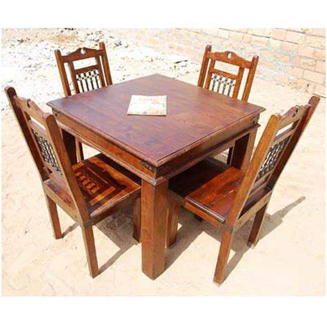 rustic square dining table grogan rustic solid wood square dining table
