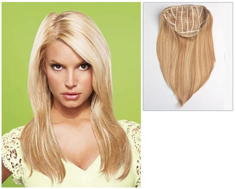 Pictures Of Using Jessica Simpsons Hair Extensions On Short Hair | jessica simpson ken paves hair extensions hairdo 22 quot clip